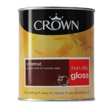 Crown Chestnut non drip gloss 750ml